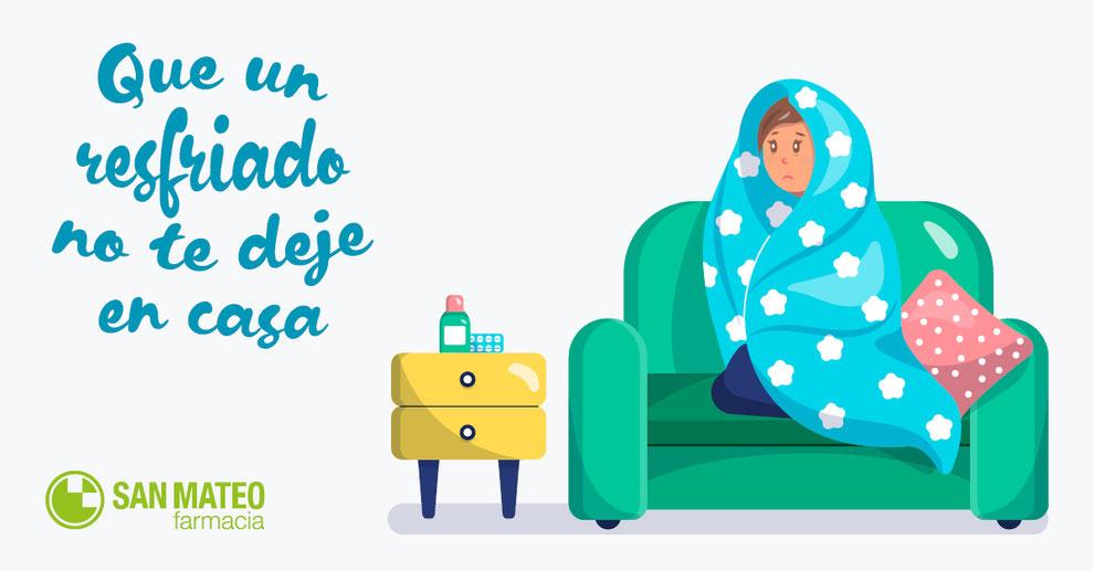 No dejes que un resfriado te arruine la navidad - Farmacia San Mateo Alicante