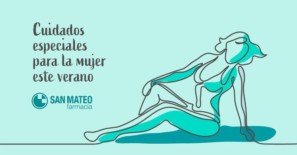 Cuidados especiales para la mujer este verano - Farmacia San Mateo Alicante