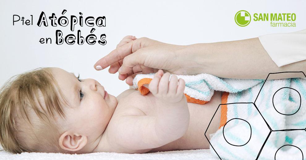 Piel atópica en bebés - Farmacia San Mateo Alicante