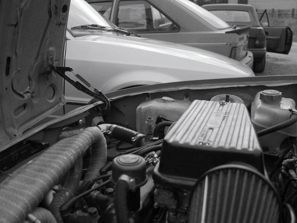 Fächerkrümmer Ford Fiesta FBD