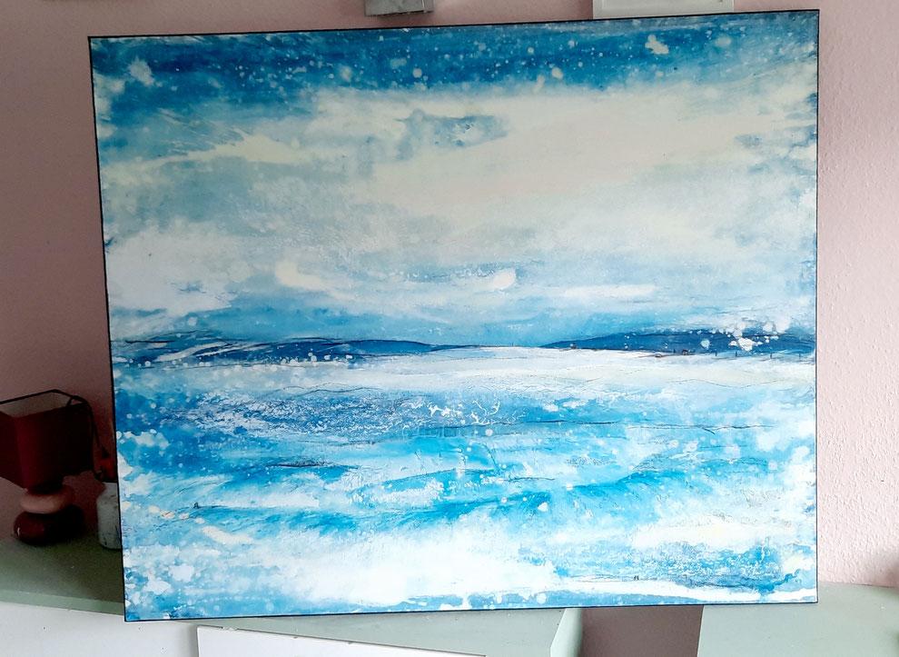 blaues Landschaft