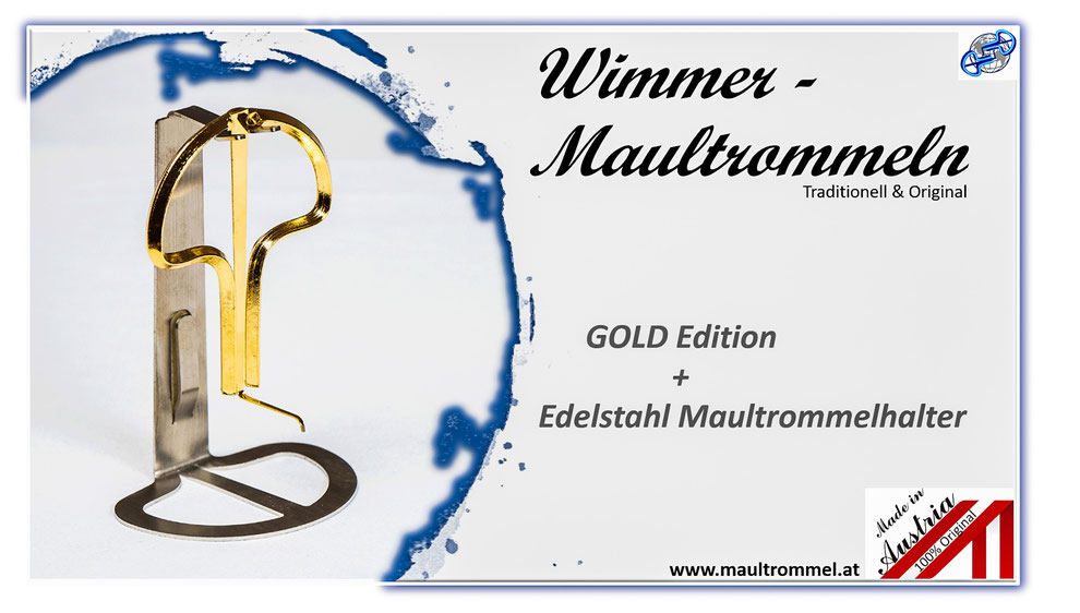 Maultrommel Wimmer Molln Österreich Traditions Musikinstrument