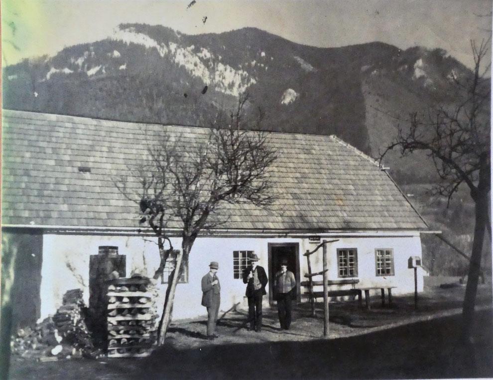 Maultrommelerzeugung Wimmer Molln - Wohnhaus & Werkstätte  Geschichte bis 1949