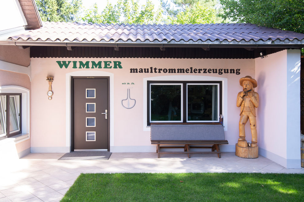 WIMMER-BADES Jaw Harp manufactury Austria in 2021 - In 1976, a separate Jaw Harp workshop was build next to the residential building