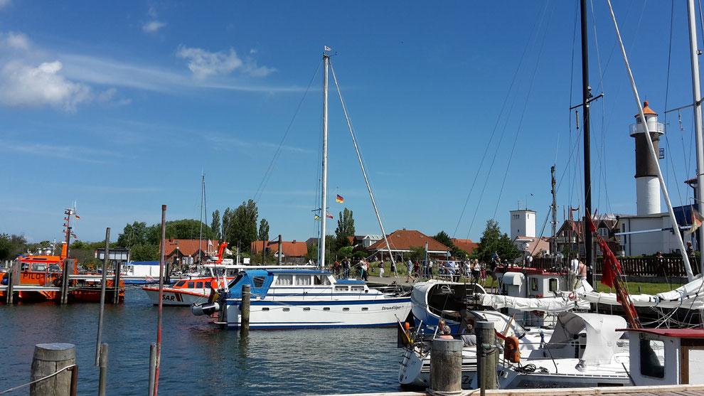 Hafen am Timmendorfer Strand auf der Insel Poel (Foto D. Mohr)