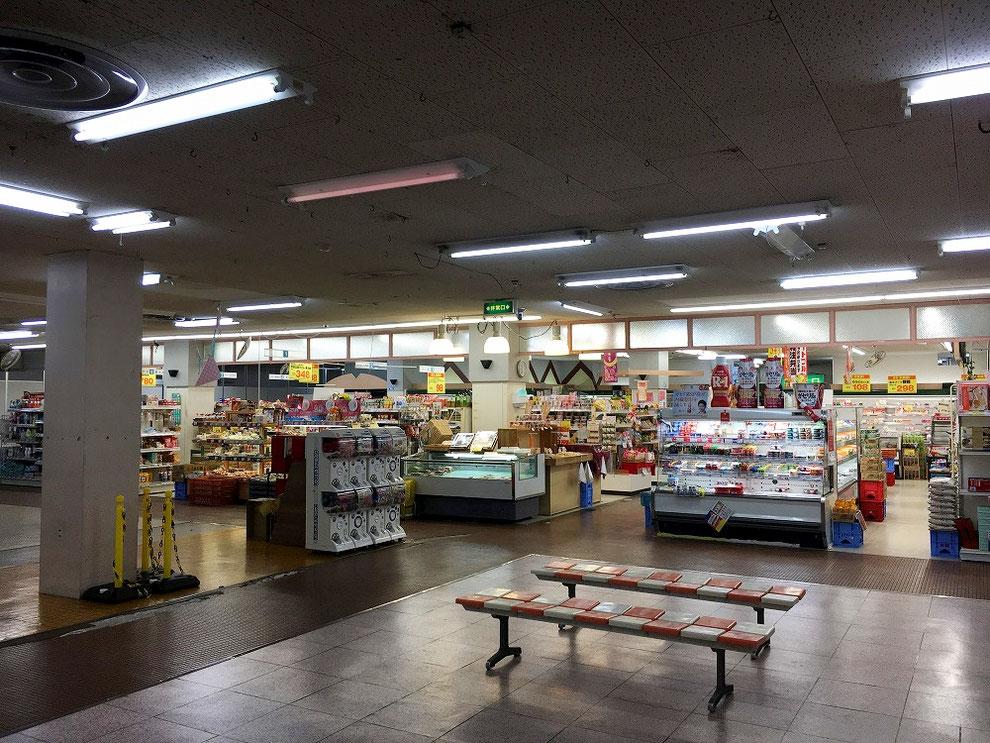 大瀬戸ショッピングセンターの店内