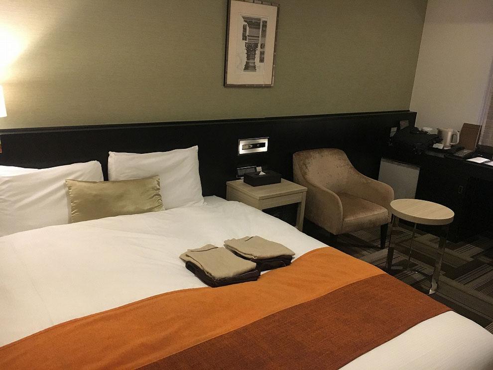 東京で泊まったホテル1