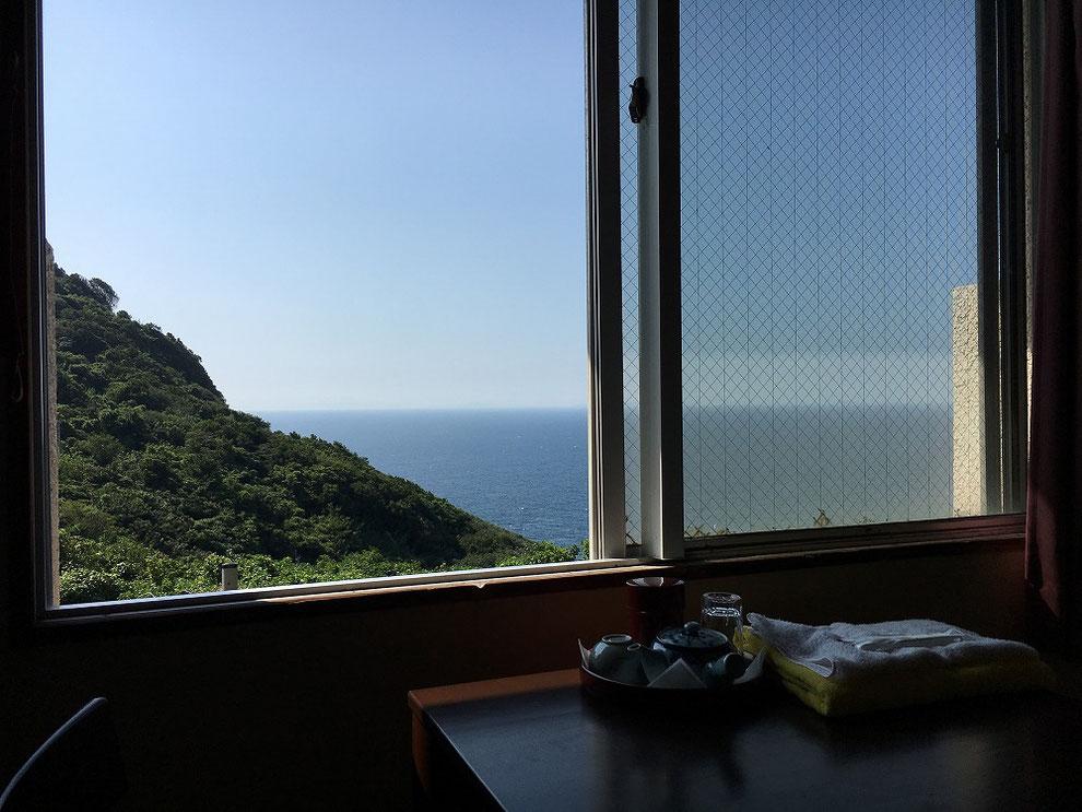 池島中央会館からの眺め