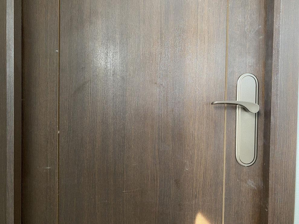 取替後の室内レバーハンドル錠(洋室)その1