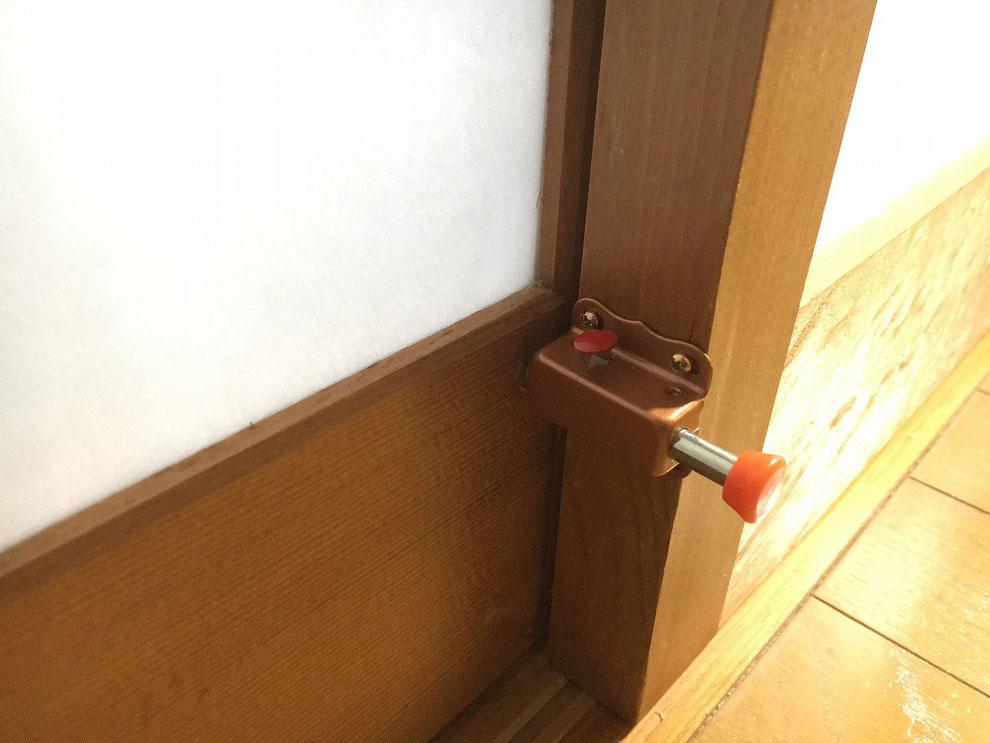 オートラッチ取り付け取り付け例(解錠時)