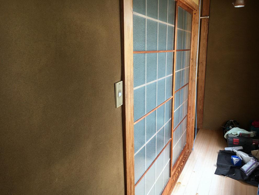 戸を左右入れ替えた後の写真