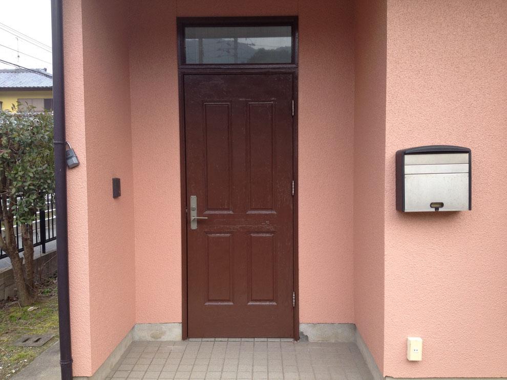 施工前のドア全体図
