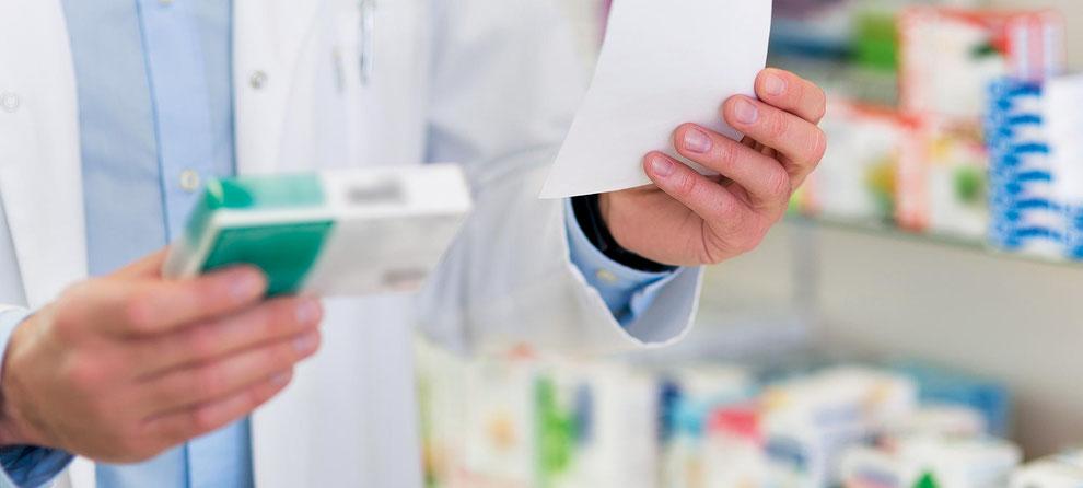 Medikamente direkt in der Apotheke abholen