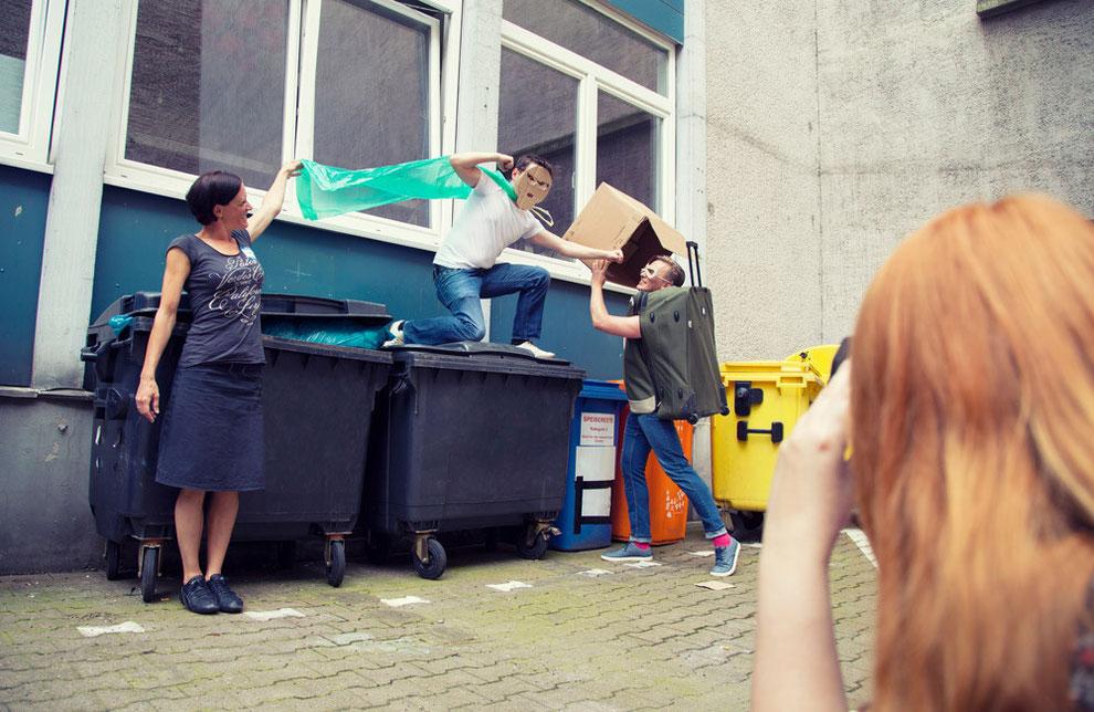 Abfallberge zum Schmelzen bringen