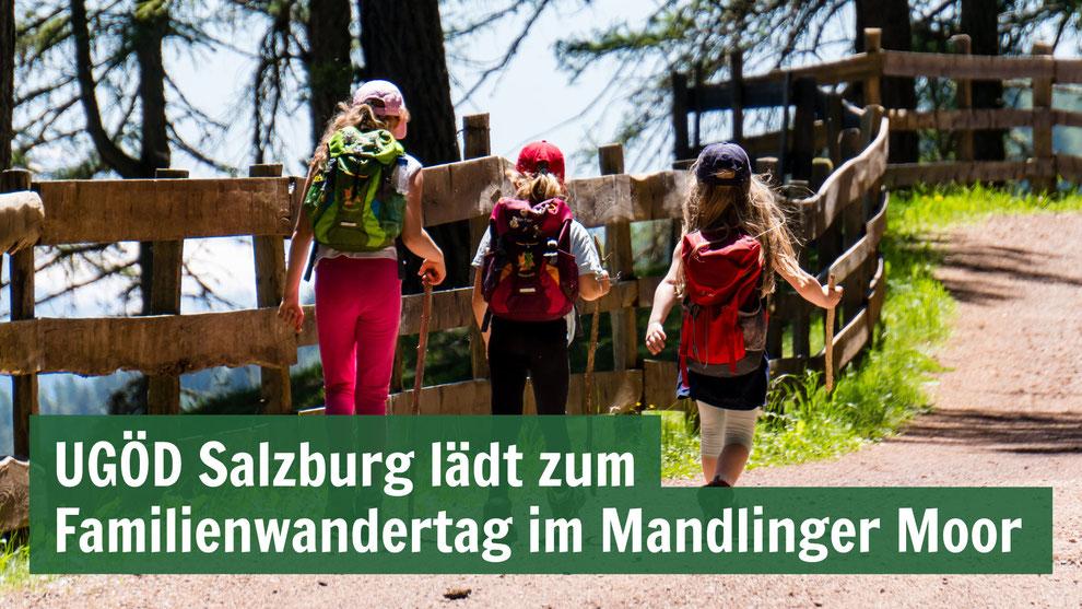 UGÖD Salzburg lädt zum Familienwandertag im Mandlinger Moor