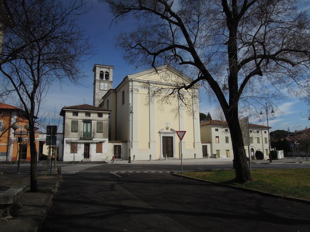 Gradisca d'Isonzo, La Chiesa di Santo Spirito nel quartiere del Mercaduzzo (febbraio 2018)