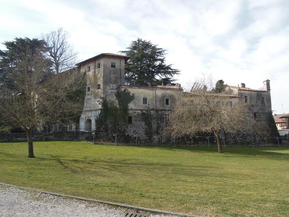 Gradisca d'Isonzo, il Castello dal lato settentrionale