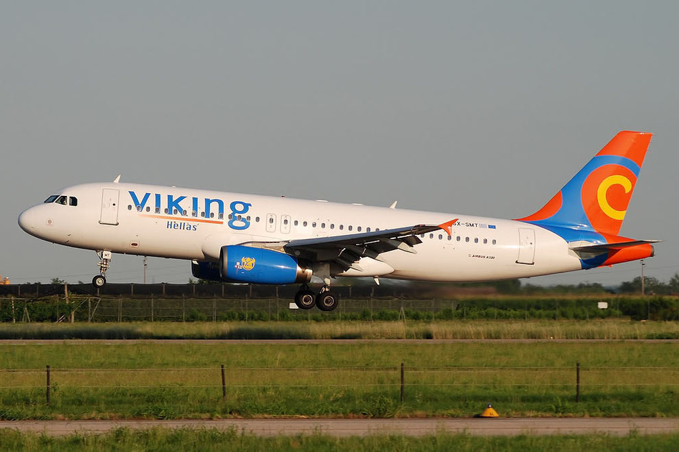 SX-SMT A320-231 393 Viking Hellas