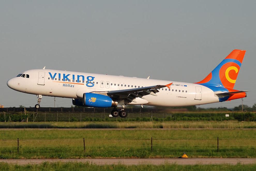 SX-SMT A320-231 393 Viking Hellas