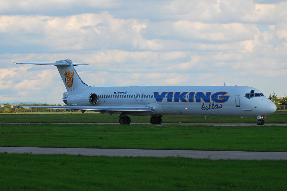SX-SMS MD-83 49631/1596 Viking Hellas