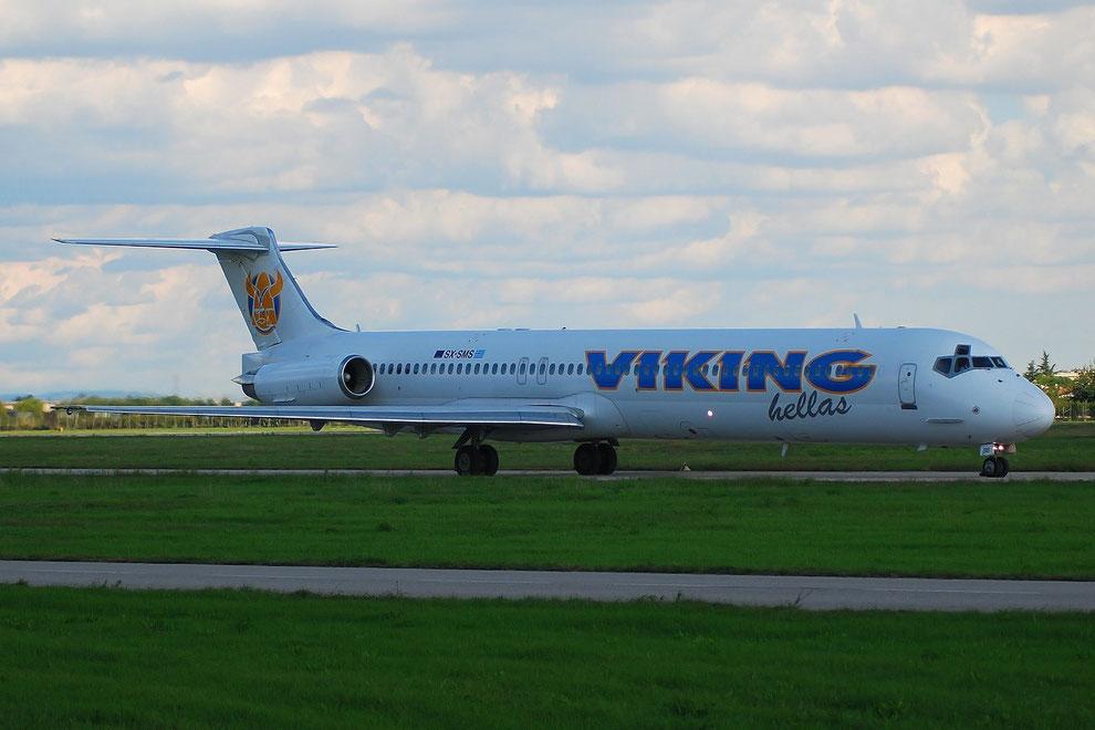 SX-SMS MD-83 49631/1596 Viking Hellas