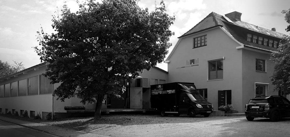 Firmengebäude Weiltingermöbel Werkstatt