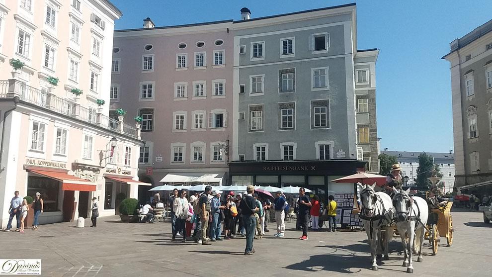 Salzburg, Café-Konditorei Fürst am Alten Markt - Erfinder der Mozartkugel