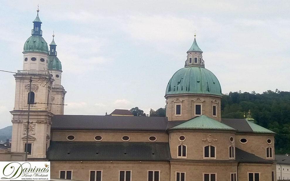 Salzburger Dom - von der Virgilianischen Bischofskirche zum barocken Gotteshaus