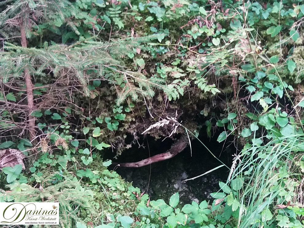 Im Zauberwald - eine Wichtel Höhle?