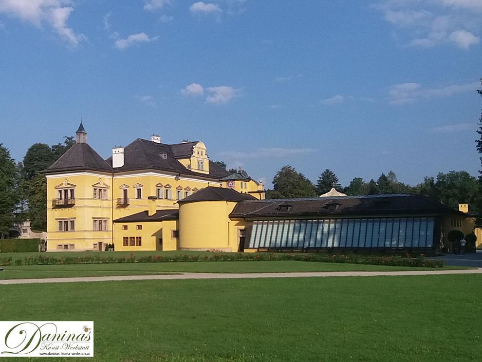 Salzburg - Lustschloss Hellbrunn mit Orangerie