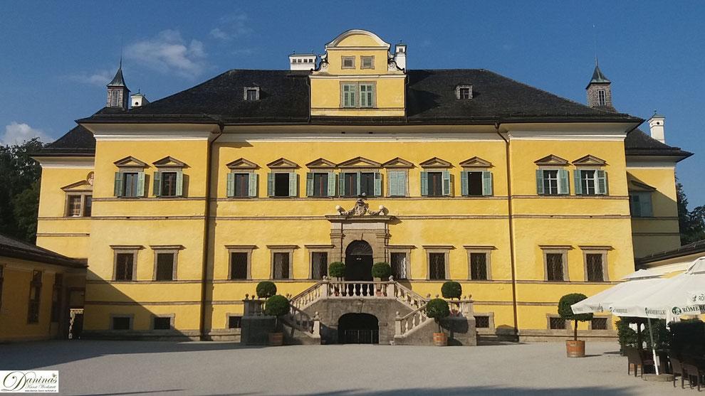 Salzburg - Scchloss Hellbrunn zählt zu den prächtigsten Renaissance-Bauten nördlich der Alpen