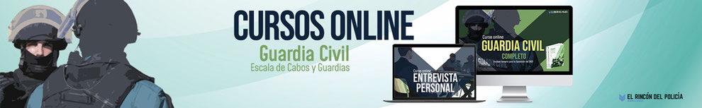 curso online oposicion guardia civil 2021
