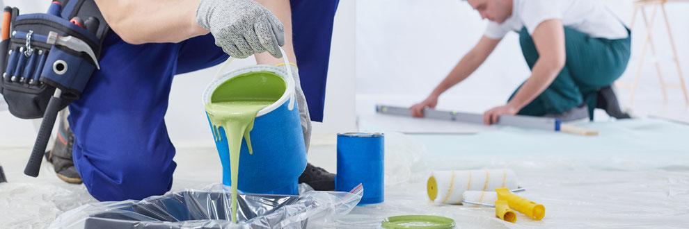 Farben Anstriche CMC Carboxymethylcellulose Wasserrückheltevermögen Schutzkolloid Bindemittel