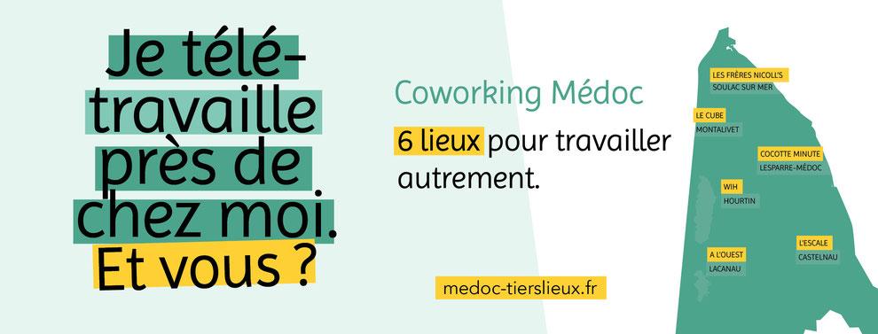 Télétravail et coworking en Médoc