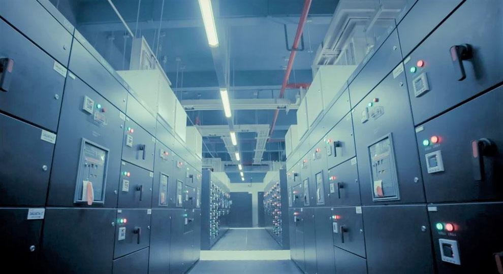 Rechenzentrum Serverraum Data Center