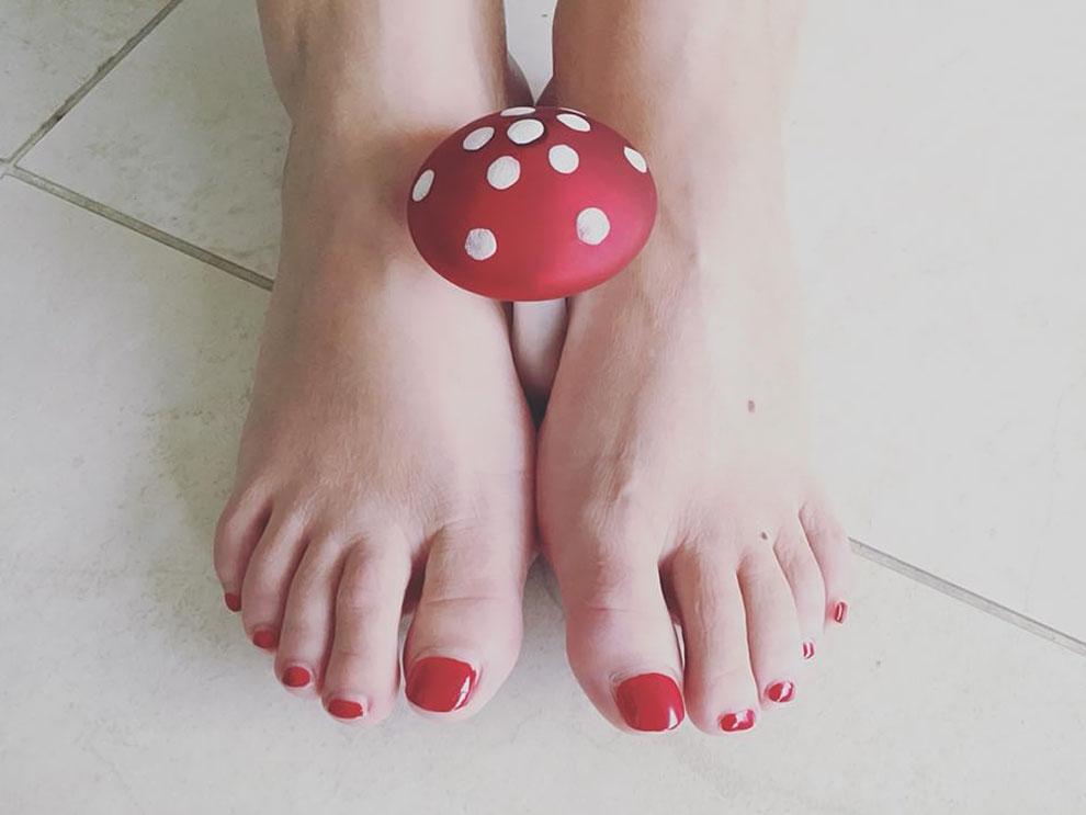 Fuß- und Nagelpilz haben nichts an Ihren schönen Füßen verloren