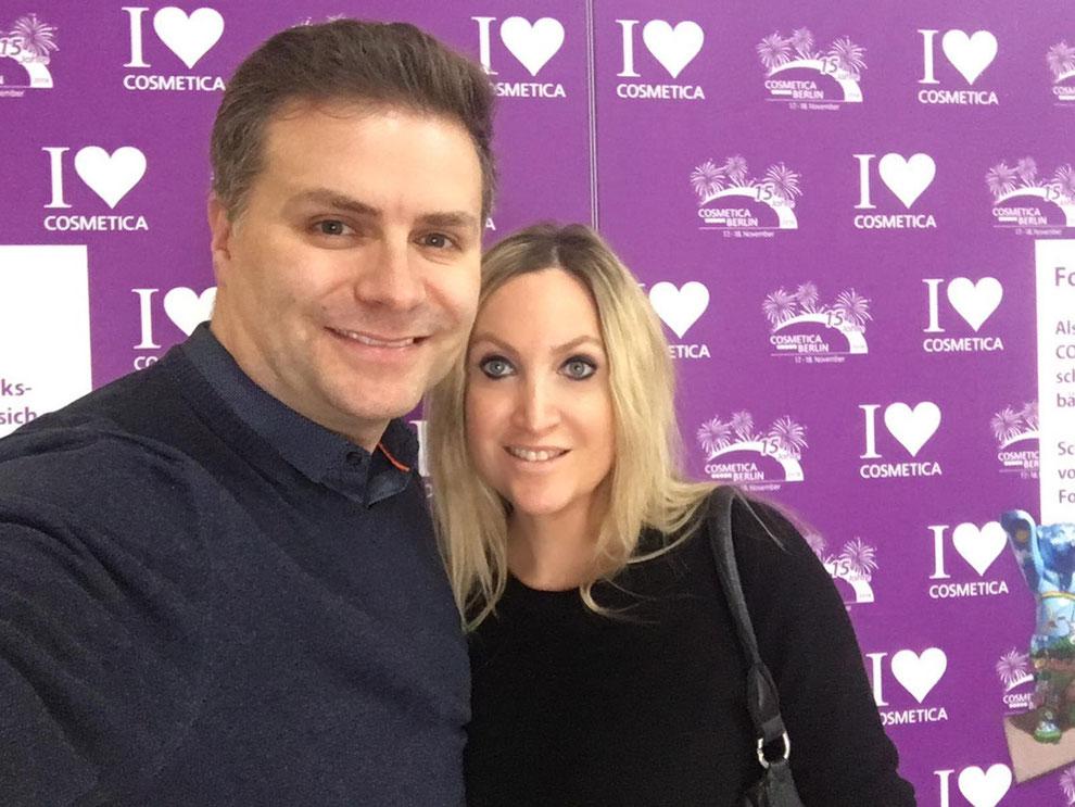 Marco und Daniela Billep sind wieder für Sie auf der Suche - auf der Cosmetica 2018