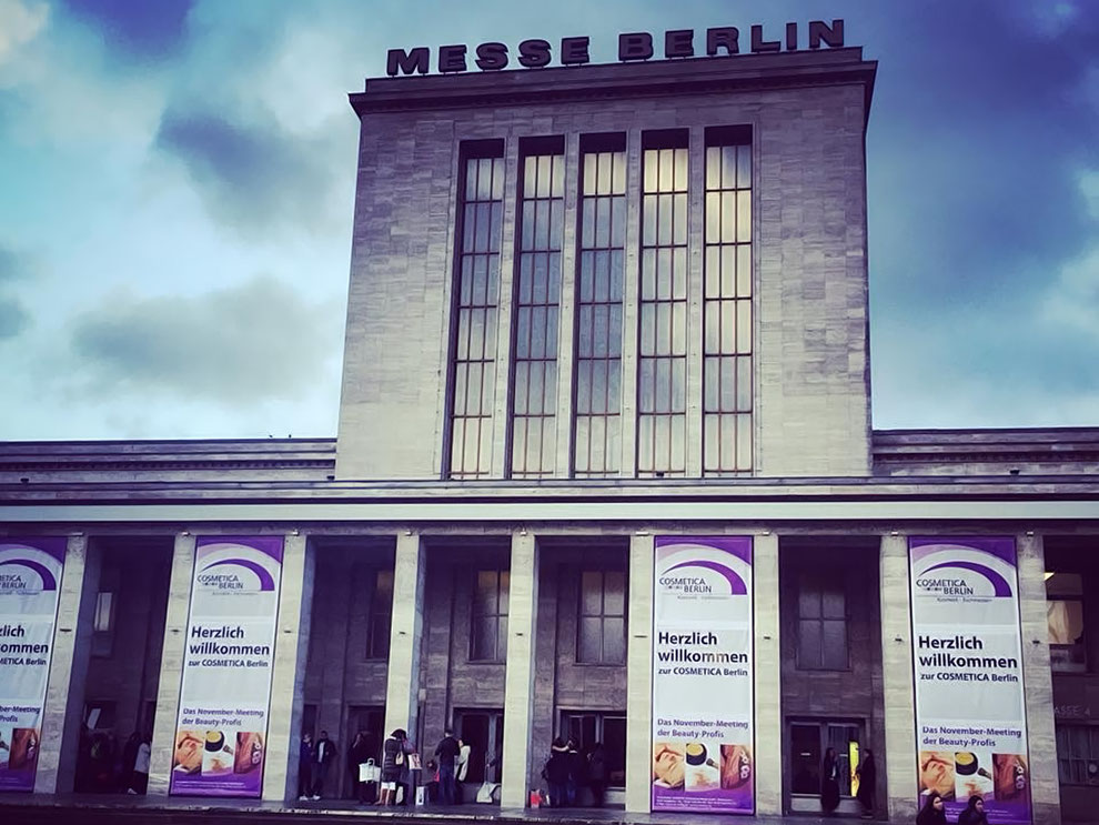 """Wir besuchten die """"Cosmetica"""" Messe 2017 in der Messehalle Berlin"""