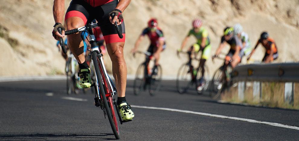 バイク 自転車 ヒルクライム ロードレース