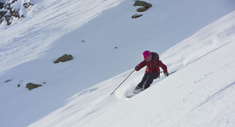 Skischule, Skitechnik verbessern, Zentralschweiz, Graubünden, Davos, Innerschwyz, Freeride, Powder, Piste, Technik, Kinder, Skifahren geführt, Skikurs, Ski-Kurs