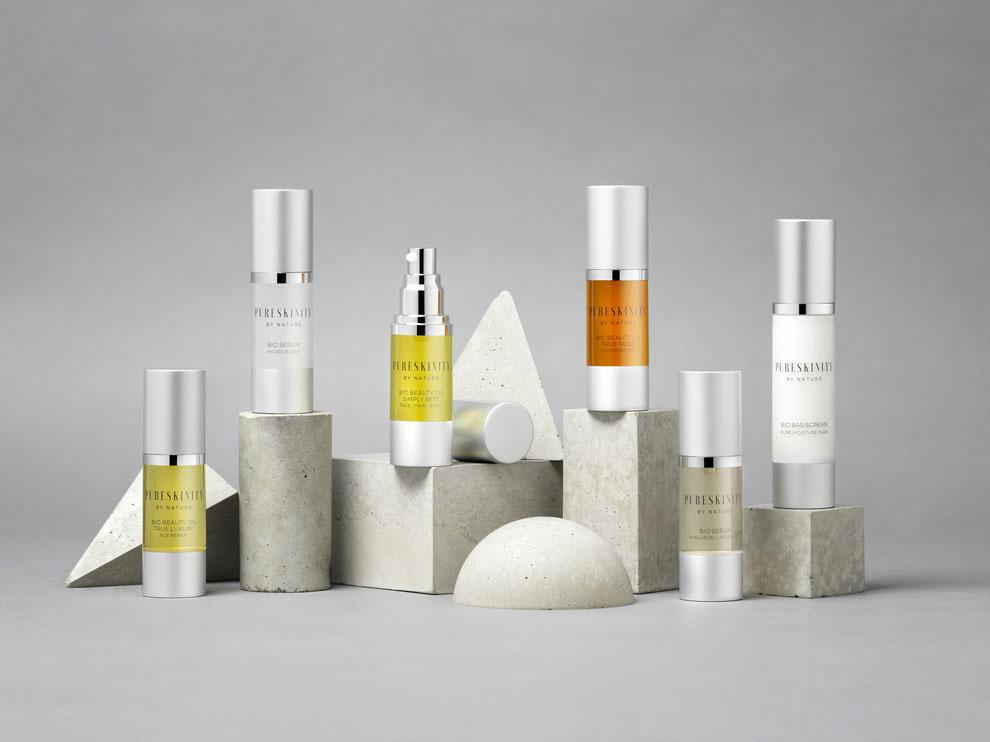 Pureskinity Biokosmetik echte Naturkosmetik Österreich vegan und ohne bedenkliche Inhaltsstoffe, nachhaltige Pflege aus der Manufaktur