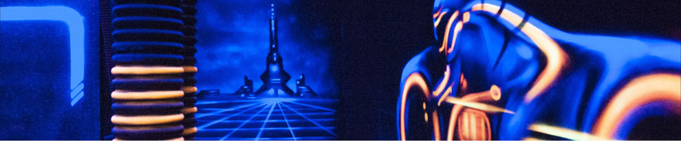 Fresque murale du Laser Game