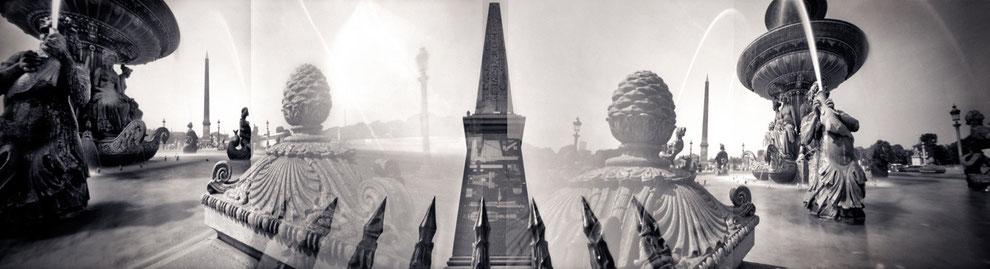 Sténopé panoramique, Paris, Concorde.