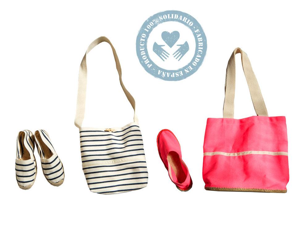 regalos textil solidarios-manipulados solidarios-zapatillas de esparto-comercio justo
