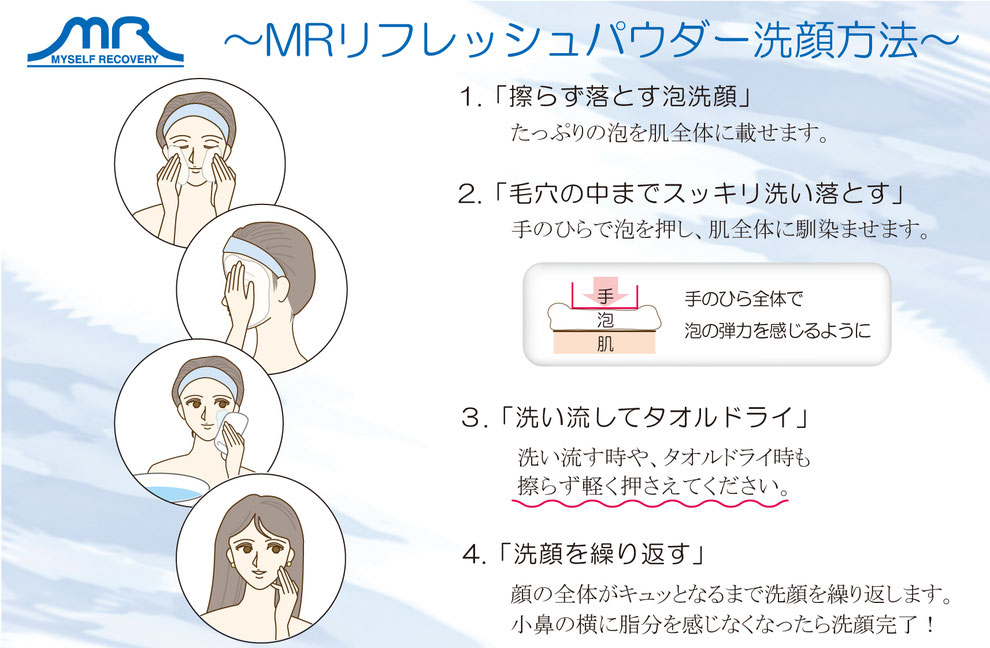 MRシリーズ リフレッシュパウダー