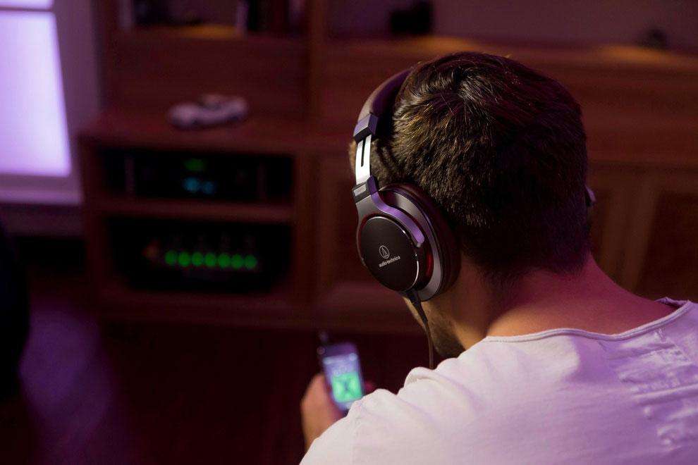 audio-technica ATH-MSR7 /  Praxistest auf www.audisseus.de