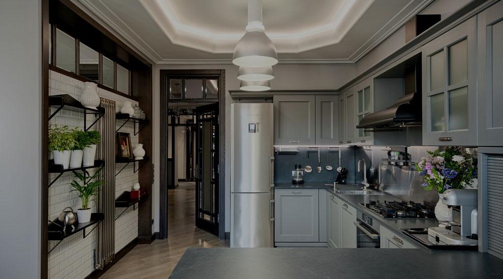 Фотография интерьера квартиры в СПб