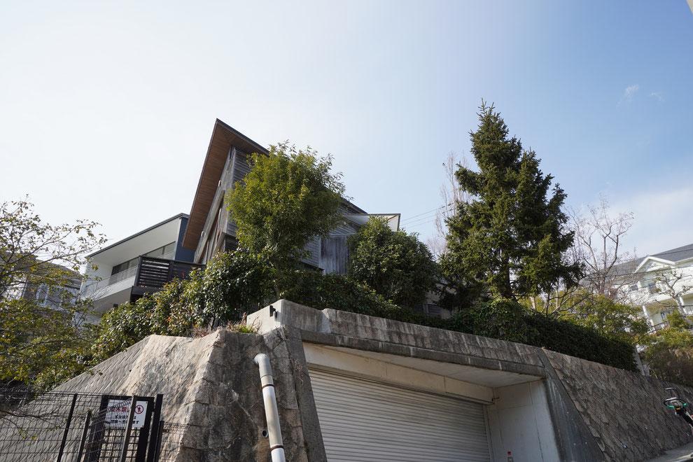 甲陽園目神山町 建築家 住宅 設計