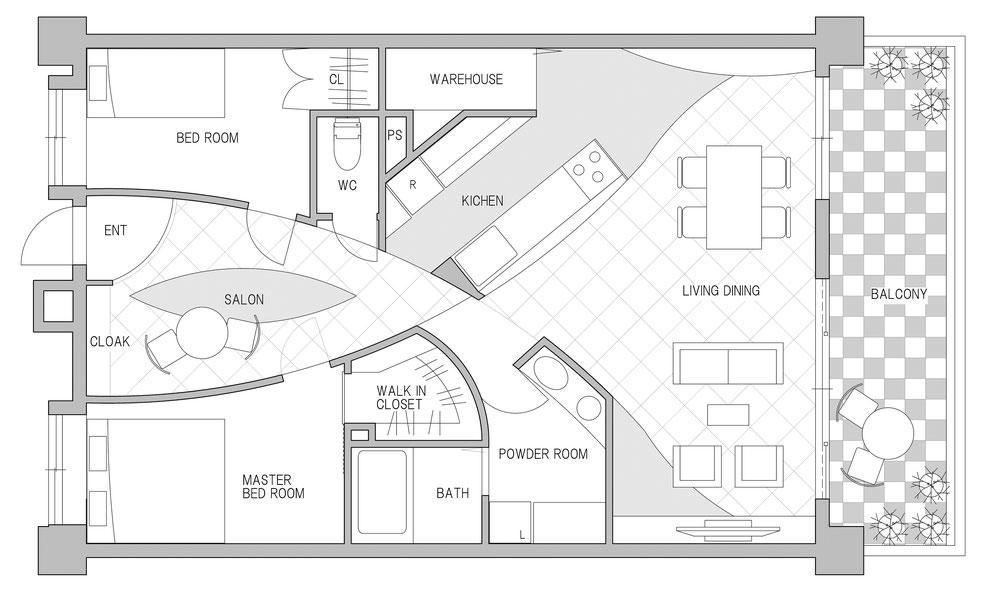 高級マンション プレミアムリノベーション・リフォーム 建築家