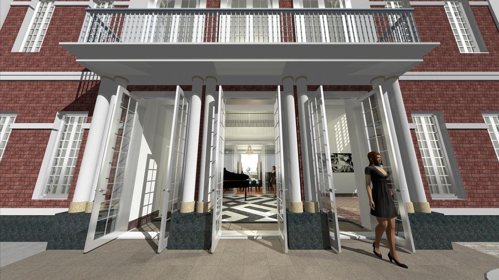 高級住宅 ヴェルサイユ宮殿 設計 輸入住宅